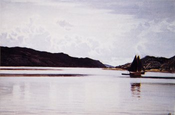 Photograph of a painting by Augustus Burke.