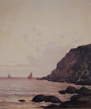 Photograph of a painting by the Irish artist, Augustus Burke.