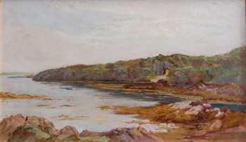 Photograph of a painting by David Bond Walker