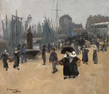 Photograph of a painting by John Lavery.