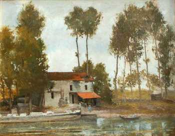 Photograph of a painting by John Philip Peacan.